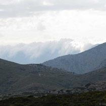 Wolken auf Ikaria