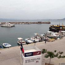 Der Hafen von Megalochori