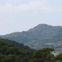 Der Hügel mit Paleochora