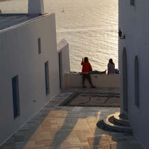 ... vom Balkon