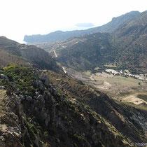 Calderarand mit Kloster Stavros