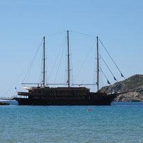 """Die """"Galileo"""", ein Kreuzfahrtschiff"""