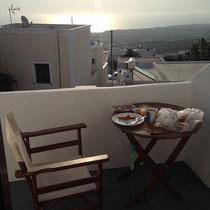 Mein Frühstücksbalkon
