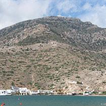 Nördliche Buchtseite mit Agia Marina und Agios Simeon