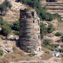 Andros: Turm von Agios Petros
