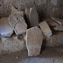 Muslimische Grabplatten