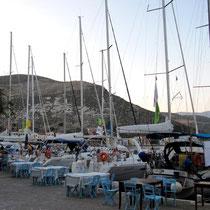 Segelboote vor Lazarakis