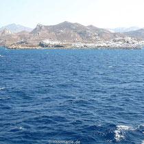 Naxos-Chora in Sicht