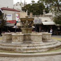 Kreta: Morosini-Brunnen in Iraklion