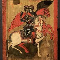 Die Heiligen Giorgios und Dimitrios, 18. Jh