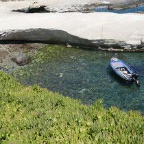 Ein guter Platz für ein Boot