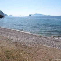 Der Strand von Plakes Wlychou