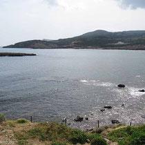 Die Bucht von Palamari