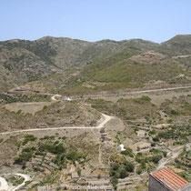 Karpathos: Blick vom Balkon