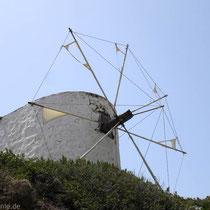Karpathos: Und noch ein Windmühlenrest in Diafani