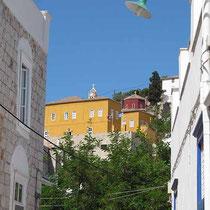 Das gelbe Kondouriotis-Haus