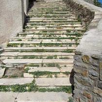 Wenig genutzt Treppe