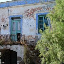 Leros: Altes Gemäuer in Alinda