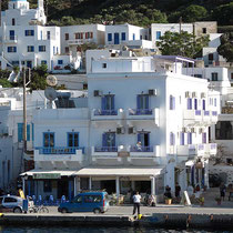 ... die Pension Amorgos