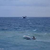 Kreta: Kein Wetter für solche Fähren
