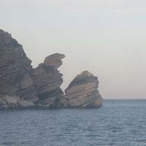 Figurenfelsen vor der Peloponnes