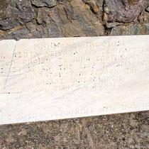 Tafel zur Erinnerung an 1822