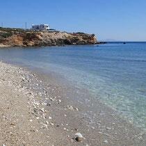 Am Strand von Glyfa
