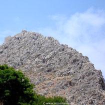 Chalki: Blick zum Johanniterkastro