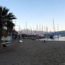 Am Strand in Agios Nikolaos