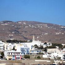 Tinos: Ein letzter Blick auf die Panagia-Kirche