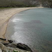 Der westliche Strand