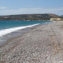 Blick nach Westen - jede Menge Strand