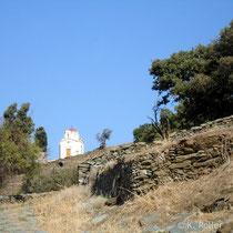 Kea: Am Weg von Ioulis nach Korissia