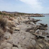 Die Felsen bei Patrikia