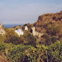 Santorin: Bei Vothonas