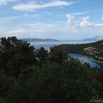 Die spätnachmittägliche Bucht von Spilia