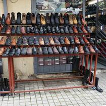 Schuhe gibt es auch