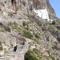 Amorgos: Nach Kloster Chozowiotissa