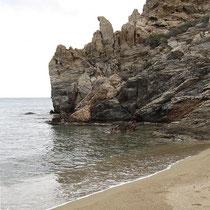 Felsen am Südrand