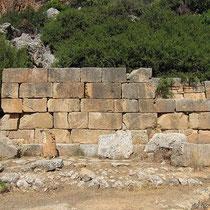 Tempelmauer