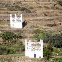 Tinos: Taubenhäuser bei Tarambados