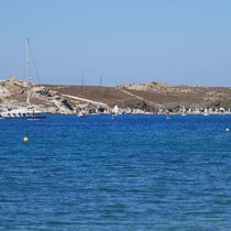 Der Strand von Katholiko/Monastiri