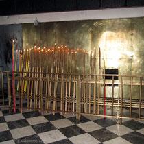 Platz für die großen Kerzen