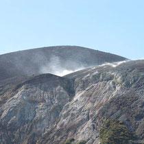 Der Gran Cratere raucht