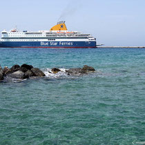 "Die ""Blue Star Patmos""..."