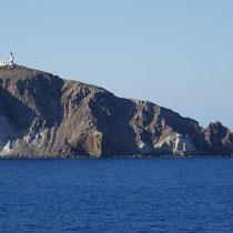 Der Leuchtturm auf dem Kap Akrotiri