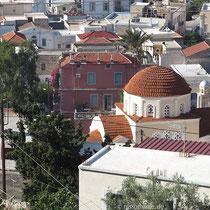 Villa Melina und Agia Triada-Kirche