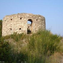 Eine der wenigen Windmühlen von Paxos