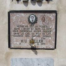 Wer war H. U. Muller?