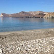 Halbrunde Bucht